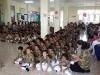 Anak-anak setiap hari berlatih Silent Sitting